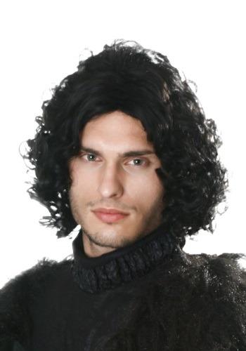 Peluca negra de Rey del Norte