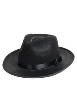 Sombrero de gángster negro