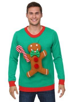Jersey de Navidad en 3D Gingerbread Man