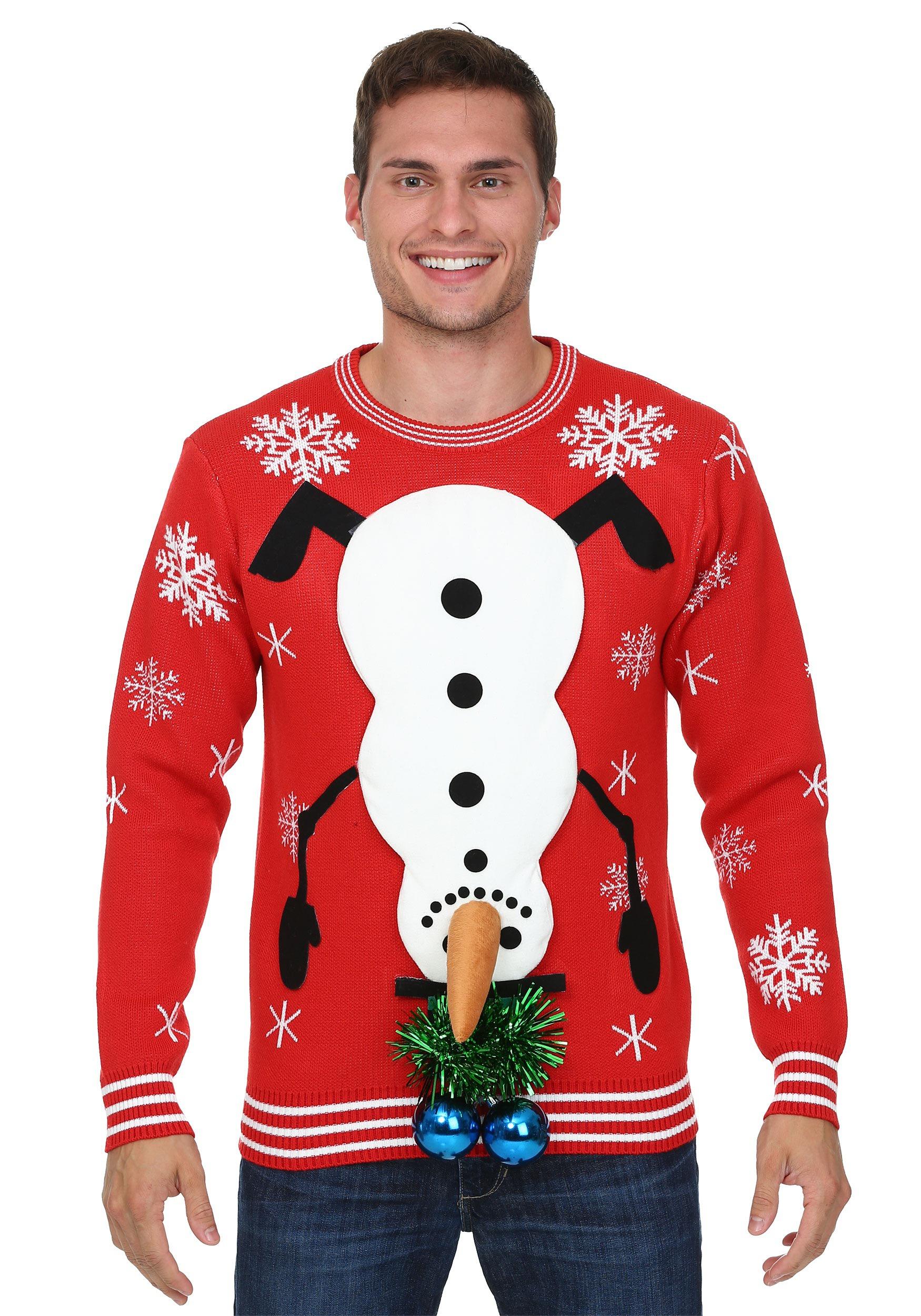 Funfeliz niños suéter de Navidad rojo gris suéter de punto