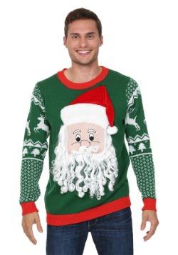 Suéter de la cara 3D de Santa