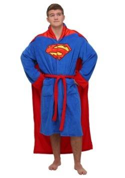 Bata de baño con capa de Superman
