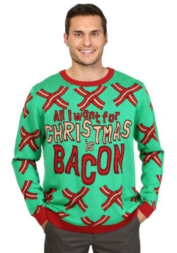 Todo lo que quiero para Navidad es Bacon Sweater
