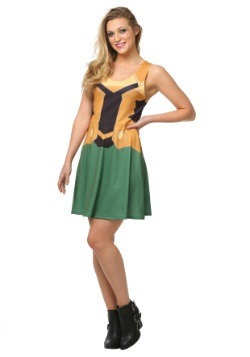 Vestido de línea A de Loki de Marvel