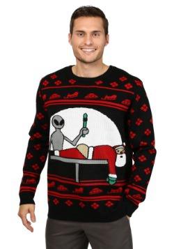 Suéter navideño Santa Probe para hombre