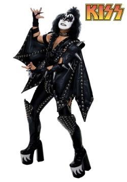 Disfraz auténtico de demonio Gene Simmons talla extra
