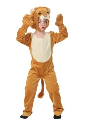 Disfraz de león de felpa para niños pequeños