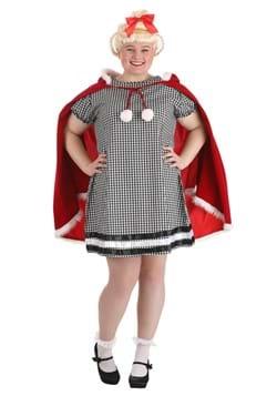 Disfraz de niña de Navidad de talla grande