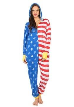 Bandera americana de las mujeres WW Lounger