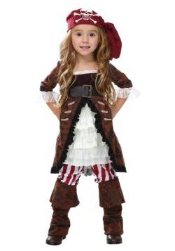 Disfraz de pirata de abrigo café para niños pequeños