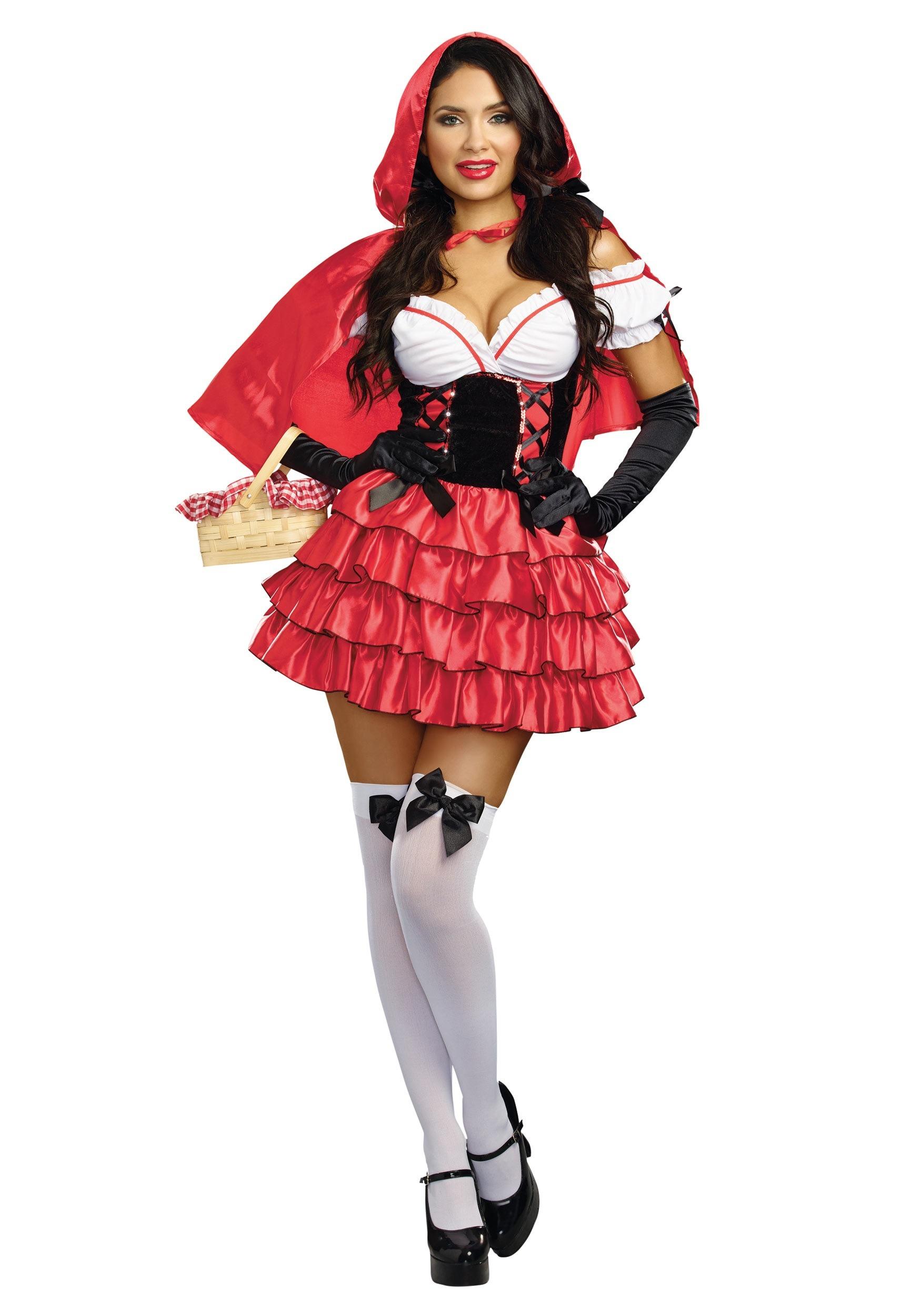 Disfraces Para Halloween De Caperucita Roja.Disfraz De Caperucita Roja