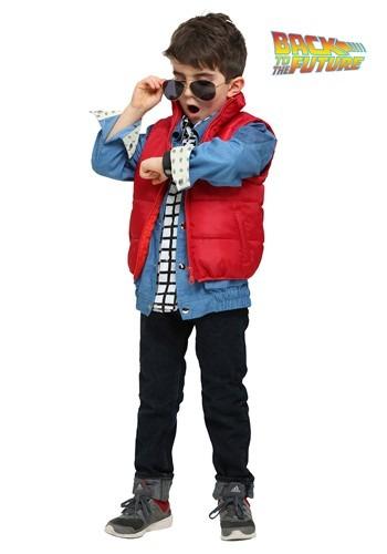 Disfraz de Marty McFly de Volver al futuro para niño pequeño