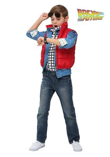 Disfraz de Marty McFly de Volver al futuro para niños