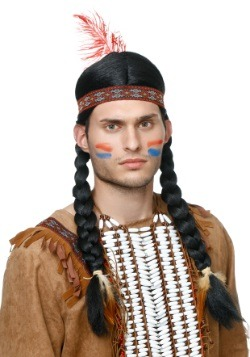 Peluca de nativo para hombre