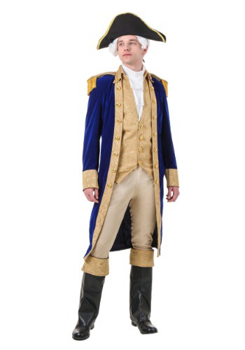 Disfraz de George Washington talla extra