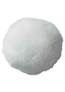 Cola de conejo blanco