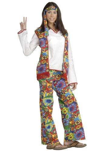 Disfraz de nena hippie