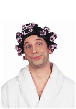 Peluca de cabello en tubos de rizado