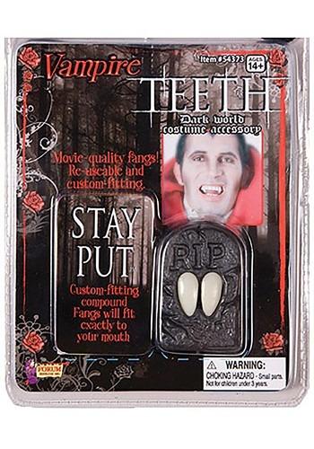 Dientes de vampiros con descuento