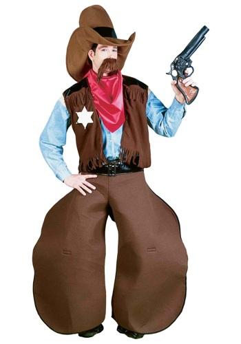 Disfraz de vaquero anticuado para adulto