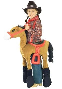 Disfraz de caballo marrón