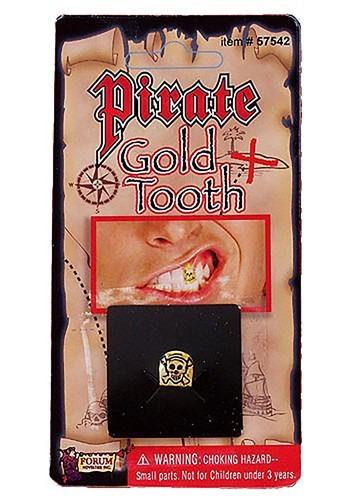 Diente de oro de pirata
