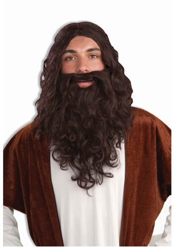 Set de peluca y barba bíblica