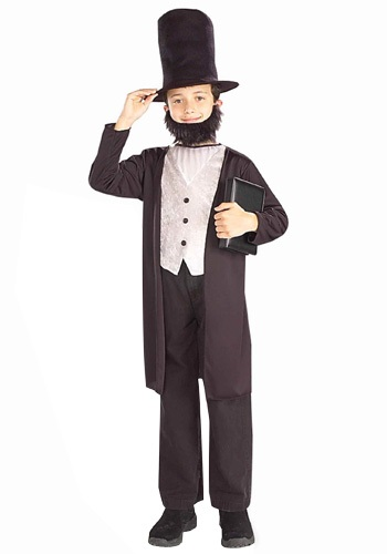 Disfraz de niño Abraham Lincoln