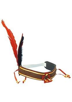 Diadema india de la cosecha de plumas