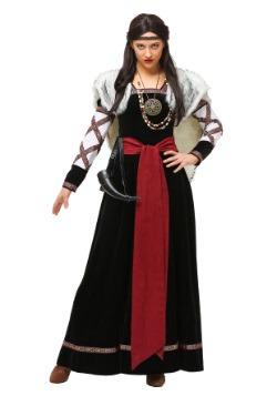 Vestido para mujer de talla Plus Viking Oscuro