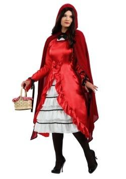Disfraz de Caperucita Roja de cuento de hadas talla extra