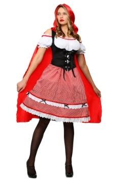 Disfraz de Caperucita Roja a la rodilla talla extra