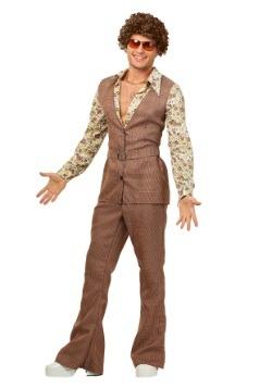 Disfraz chaleco de los 70 para hombre