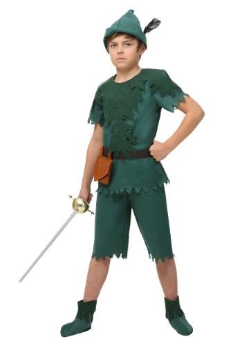 Disfraz de Peter Pan para niño