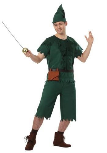 Disfraz de Peter Pan para adulto talla extra