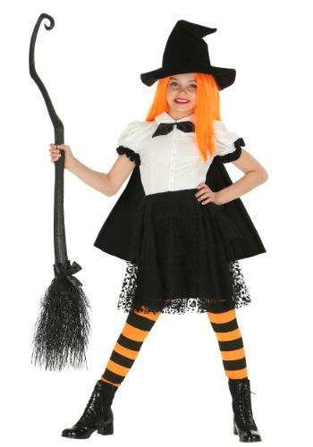 Disfraz de bruja Punky para niñas