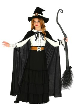 Disfraz de bruja Salem para niña