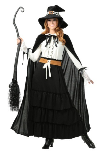 Disfraz de Bruja de Salem para mujer