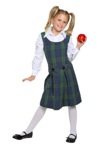 Disfraz de niña de escuela infantil