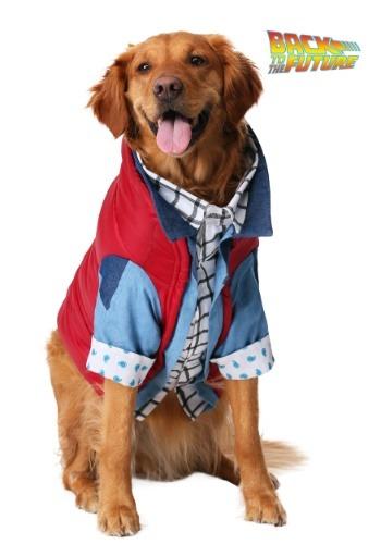 Disfraz de perro Marty McFly de Volver al futuro