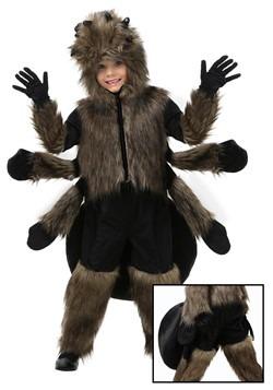 Disfraz de araña peluda para niños pequeños