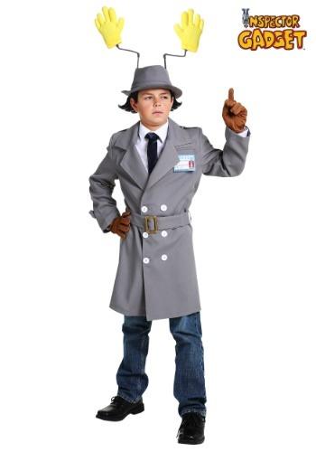 Disfraz de niño Inspector Gadget