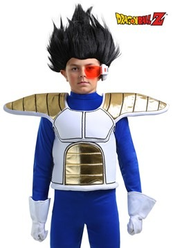 Accesorio de armadura de Dragon Ball Z Saiyan para niños