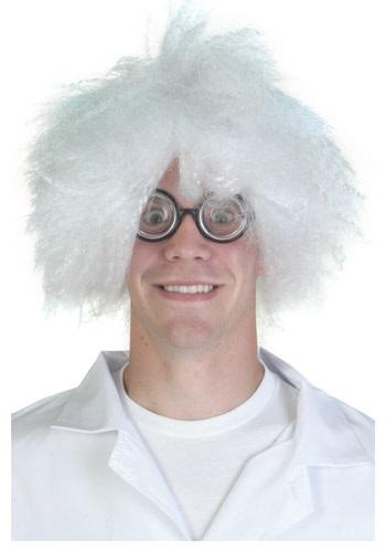 Peluca de científico loco