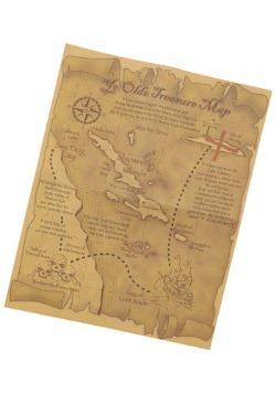 Accesorio de mapa del tesoro