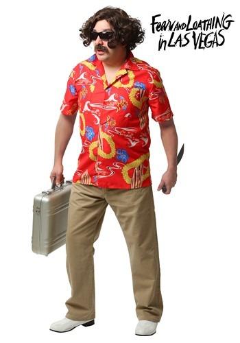Disfraz de Dr. Gonzo de Pánico y Locura en Las Vegas adulto