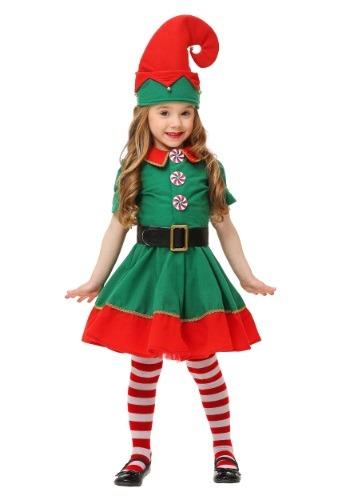 Disfraz de duende navideño para niños pequeños