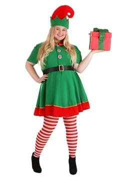 Disfraz de talla para mujer Elf Holiday Plus