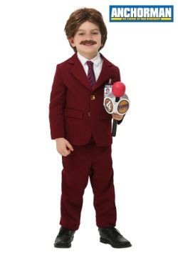 Disfraz infantil de Ron Burgundy de Anchorman