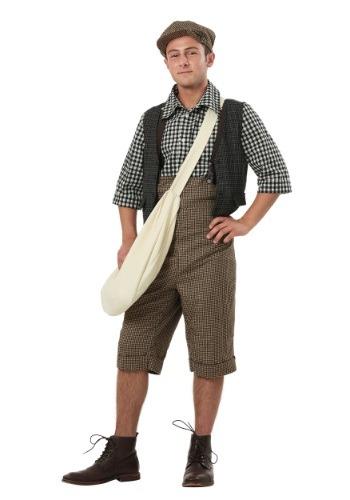 Disfraz de Newsie adulto de los años 20